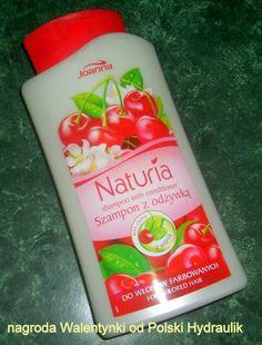 ZADBAJ O SIEBIE NA CODZIEŃ..: szampon wiśniowy z odżywką do farbowanych włosów-J...