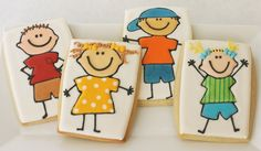 Kid Cookies -- cute.
