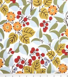 Keepsake Calico Fabric-Multi Mod Floral at Joann.com:
