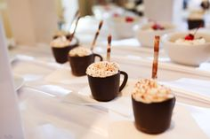 Complete your Gourmet Coffee Bar with our Mocha Mousse Coffee Cups