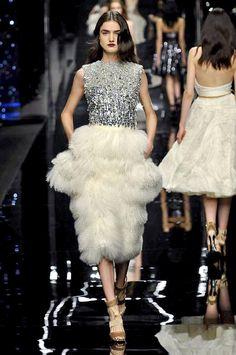 Ermanno Scervino Autumn/Winter 2015 | Fashion, Trends, Beauty Tips & Celebrity Style Magazine | ELLE UK Fall Winter, Autumn, Ermanno Scervino, Prom Dresses, Formal Dresses, Catwalk, Beauty Tips, Celebrity Style, Fur
