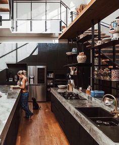 SNSKさん (@jeter_snsk) / Twitter Dream Home Design, Home Office Design, Modern House Design, Loft Interior, Home Interior Design, Interior Architecture, Loft Design, Design Case, Design Jobs