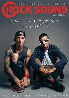Rock Sound @rocksound SUBSCRIBERS, ONLINE + DIGITAL READERS CAN GET THIS SPECIAL EDITION COVER, TOO! http://smarturl.it/RS220  pic.twitter.com/VAgnoypC7N twenty one pilots - josh dun - tyler joseph