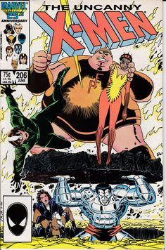 Uncanny X-Men  206 June 1986 Issue  Marvel Comics  by ViewObscura