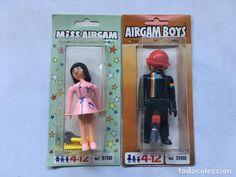 AIRGAM BOYS-MISS AIRGAM -BLISTER- REFERENCIAS: 29100 Y 57100 -MOTORISTA Y PELQUERA-PILOTO AIRGAMBOYS