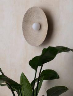 Allied Maker Unveils Four New Elegant Lighting Fixtures - Design Milk Flat Shapes, Design Blog, Craft Stick Crafts, Craft Ideas, Interiores Design, Lighting Design, Wall Lighting, Metal Working, Light Fixtures