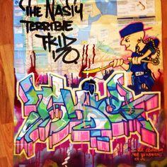 T-KID http://www.widewalls.ch/artist/t-kid/ #graffiti https://www.etsy.com/shop/urbanNYCdesigns?ref=hdr_shop_menu