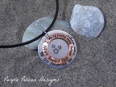 Galileo quote pendant - I have loved the stars too fondly to be fearful of the night.