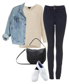 """inspired outfit for college"" by pagesbyhayley ❤ liked on Polyvore featuring Topshop, Mulberry and Keds"