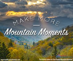Are you ready to make more memories in the Smokies? We are!