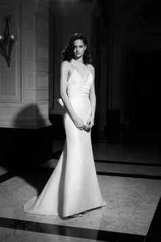 Fit And Flare Wedding Dress, One Shoulder Wedding Dress, Victor And Rolf, High Low Gown, Bridal Looks, Bridal Collection, Formal Dresses, Wedding Dresses, Marie