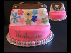 To cute - another Thirty-One Cake!  I love my cakes and Thirty-One!  Glad I sell both!!!!