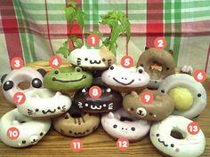 Animal donuts!