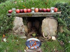 Shrine of the Ancestral Spirits of the land...Druid   --   hmmm, looks familiar.
