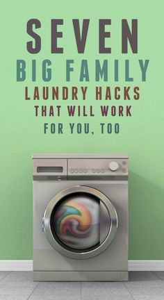 7 big family laundry hacks that will work for anyone!