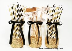 Graduation Party Decor Discover Graduation Party Decorations New Years Eve Decor Birthday Decorations Black and Gold Decor Gold Wedding Engagement Party Decorations Anniversary Party Centerpieces, Engagement Party Centerpieces, Jar Centerpiece Wedding, Mason Jar Centerpieces, Centerpiece Decorations, New Years Eve Decorations, Gold Wedding Decorations, Graduation Party Decor, Birthday Party Decorations