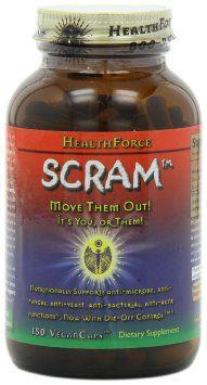 Amazon.com: Health Force SCRAM Vegan Caps 150 Count: Health & Personal Care