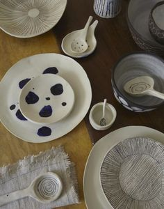 Pottery by Paula Grief Ceramics, photo by by Anita Calero and Gemma Comas on Remodelista