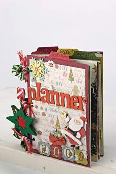 Christmas Planner--link takes you to other website to PDF files then have to download individual pages.