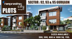 Ramprastha City Plots Sector 92,93,95 Gurgaon #Ramprasthacityplots