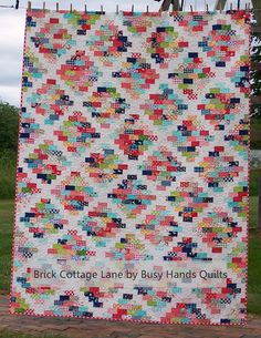Brick Cottage Lane by Busy Hands Quilts