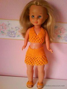 Nancy vestido naranja
