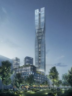SOM Wins Competition For Swedens Tallest Tower
