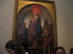 Mary and Child painting