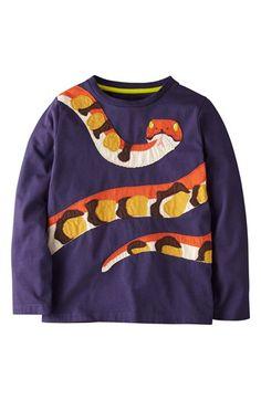 Mini Boden 'Big Animal' Appliqué T-Shirt (Toddler Boys, Little Boys & Big Boys) | Nordstrom
