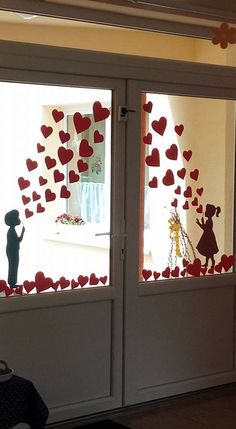 Valentine Crafts For Kids, Valentines Diy, Diy Crafts For Kids, Art For Kids, School Decorations, Heart Decorations, Valentine Decorations, Valentines Bricolage, Paper Crafts