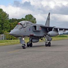 Last Septcat Jaguar Jet to leave RAF Coltishall, Norfolk