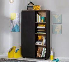 Ikea, Bookcase, Shelves, New York, Black, Home Decor, Modern Kids Rooms, Feng Shui Decorating, Shelving