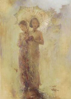 hu jun di paintings | 11-24-2010 - Hallmark Fine Art Gallery - Updates and New Arrivals