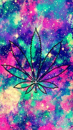Cute Weed Galaxy Wallpaper #androidwallpaper #iphonewallpaper #wallpaper #heart #galaxy #weed