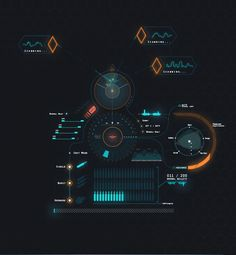 Quantum HUD | Infographic Pack on Behance. If you like UX, design, or design thinking, check out theuxblog.com