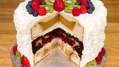 Cherpumple: Triple Layer Pie in a Cake