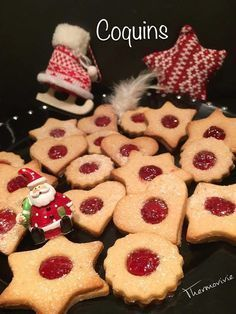 Coquins au Thermomix Biscuit Cookies, Biscuit Recipe, Thermomix Desserts, Dessert Recipes, Cooking Time, Cooking Recipes, My Favorite Food, Favorite Recipes, Christmas Biscuits