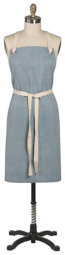 The Danica Studio Blue Parker Apron is designed for use in the kitchen, garden, workshop and more. This versatile apron features two deep front Aprons For Sale, Aprons For Men, Chef Apron, Linen Apron, Apron Pockets, Kids Apron, Aprons Vintage, Kitchen Aprons, Modern Classic