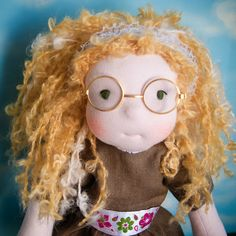 Eva,waldorf doll , fabric doll, ooak doll, fabiluli