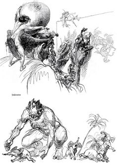 Heinrich Kley | Lines and Colors :: a blog about drawing, painting, illustration, comics, concept art and other visual arts