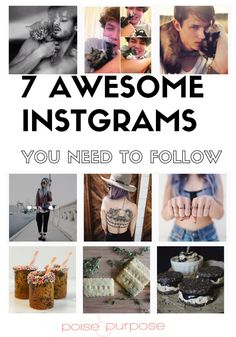I never would have found these amazing instagrams without Poise and Purpose! So funny!