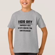 Kids say: Arsenic is a strong spice T-Shirt Kids say the strangest things, you never know what they will say. Get this t-shirt with quote kids have said. On this t-shirt it said: Arsenic is a strong spice that can easily destroy the whole dinner. T Shirts With Sayings, Boys T Shirts, Tee Shirts, Tees, New Years Shirts, Christmas Shirts For Kids, Quotes For Kids, Funny Tshirts, Decir No