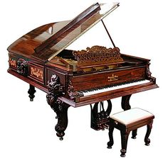 Steinway & Sons Centennial Model D Concert Grand Piano   c.1877