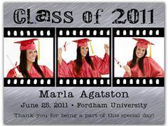 Graduation Magnet Party Favors - Film Strip.  http://www.magnetqueen.com/grad_film_strip_order.htm