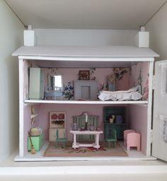 Little White dolls house