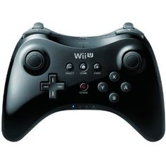 (*** http://BubbleCraze.org - New Android/iPhone game is wickedly addicting! ***)  Nintendo Wii U Pro Controller Black