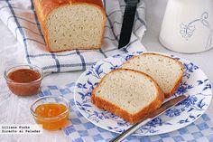 Receta de pan de molde con buttermilk o suero de leche