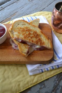 Bacon Jam and Avocado Grilled Cheese Sandwich — Punchfork | Ode to ...