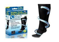 Kompressziós zokni, mely segít enyhíteni a lábfájást