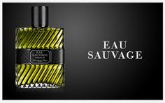 Dior - Eau Sauvage. The quintessentially French classic since its creation, Dior's first men's perfume remains revolutionary for its simple audacity. Its world-class composition offers a perfect blend of crisp citrus notes and distinctly masculine woody undertones; an eternal favorite. For 2012, François Demachy has created Eau Sauvage Parfum, the new chapter in this legendary story. Christian Dior, French Classic, New Chapter, After Shave, Chinese New Year, Woody, Happy New Year, Crisp, Composition